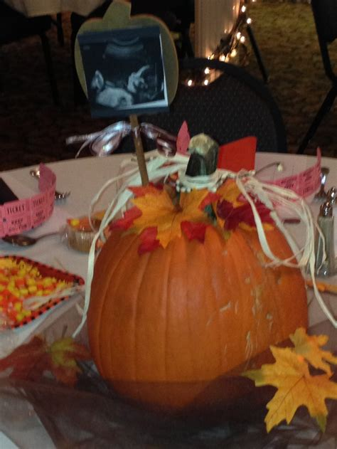 Quot Little Pumpkin Quot Baby Shower Centerpieces Safe Haven Pumpkin Baby Shower Centerpieces