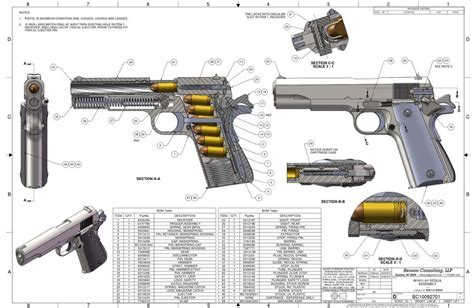 solidworks tutorial gun m1911 a1 semi automatic pistol solidworks solidworks
