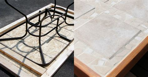Replacement Tiles For Patio Table Remodelaholic How To Replace A Patio Table Top With Tile