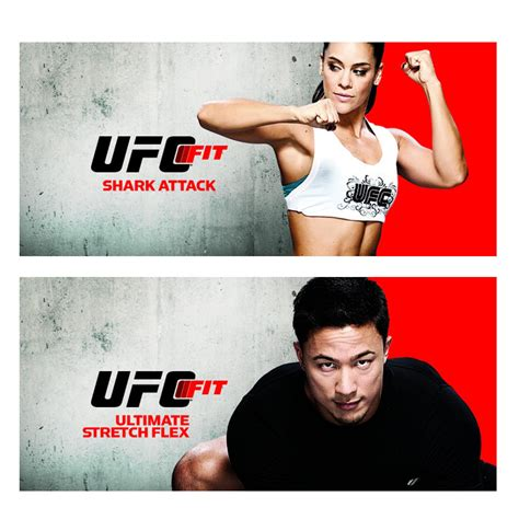 ufc fit 12 week home fitness exercise program dvd