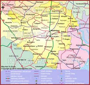 west midnapore road map road map of west midnapore