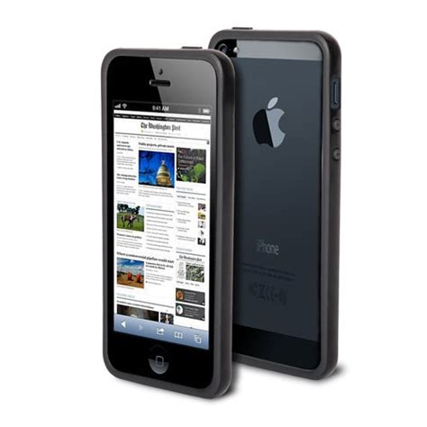 Casing Iphone 5g Grey best poetic borderline bumper for apple iphone 5 5th generation 5g at t t mobile sprint