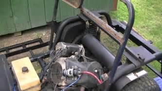 1991 columbia parcar golf cart restore part 1