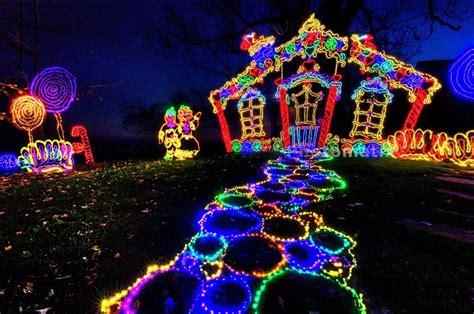 Rock City S Enchanted Garden Of Lights Drive The Nation Enchanted Rock Garden