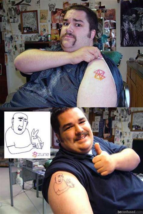 zune tattoo steven smith the zune models picture