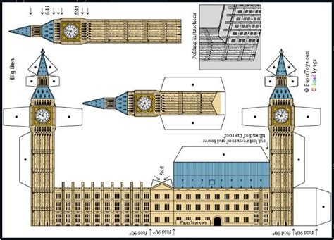 Big Ben Papercraft - papermau 08 07 2016 08 14 2016