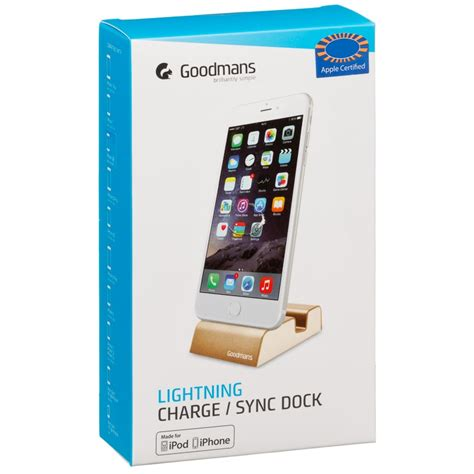 Charge And Sync Dock Sicron For Apple Device Lightning Connect Mura goodmans lightning dock phone accessories b m stores