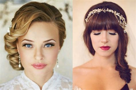 Wedding Hairstyles Shaped Faces by Top Tips To Find The Wedding Hairstyle For Your