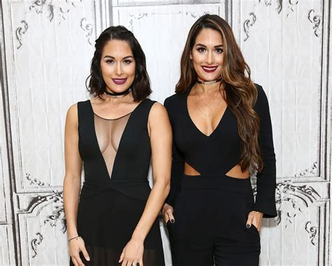 nikki bella and brie bella nikki bella on what she s learned from wedding planning