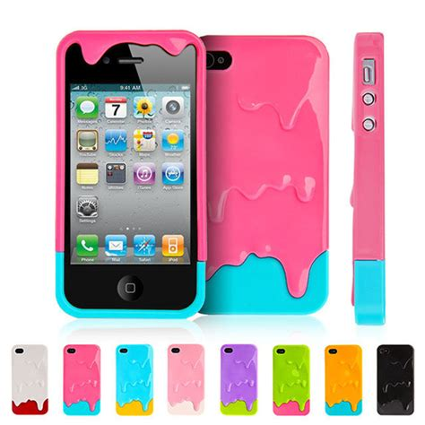 3d melt cover for iphone 4 4s