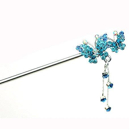 Set Of 2 Butterfly Hair Stick 135 best ideas about headpieces on tassels