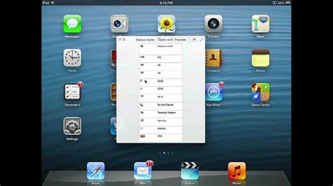 youtube layout ipad ipad 101 status icons and screen layout youtube