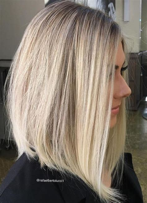 blonde hair is usually thinner 70 devastatingly cool haircuts for thin hair blonde lob