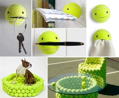 8 Ideas For Recyling Or Reusing Household Trash by 30 Creative Design Ideas To Reuse And Recycle Tennis Balls