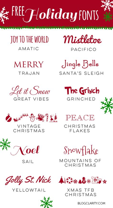 printable christmas fonts save time with email canned responses holiday fonts