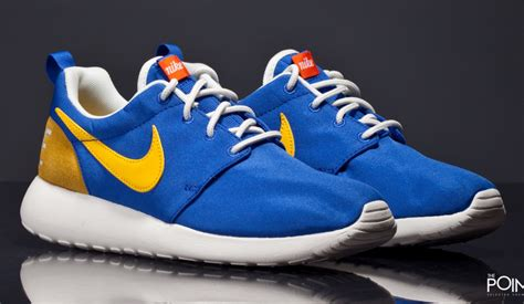 blue and yellow sneakers shop nike roshe one retro blue yellow at the sneakers shop
