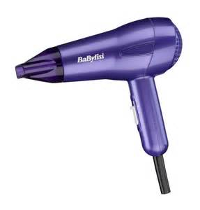 Babyliss Dryer Babyliss 5546bu 1200w Nano Hair Dryer Purple Travel Fast