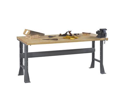 work bench legs tennsco storage made easy flared leg workbench with