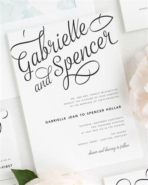 Sle Wedding Invitation Script by Sle Invitation For Wedding Dinner Wedding Invitation