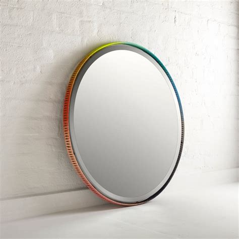 mirror design colorful braided mirror frames for artistic modern decorating schemes freshome