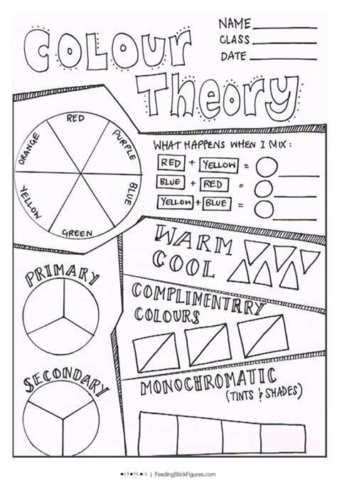 color theory worksheet worksheet color theory worksheets grass fedjp worksheet