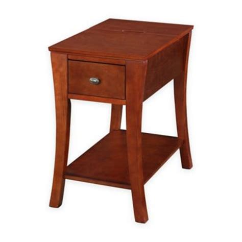 buy pulaski margaret accent table in cherry from bed bath beyond buy table legs from bed bath beyond