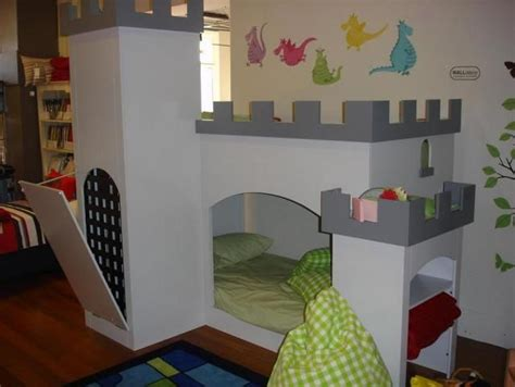 Boys Castle Bunk Bed A Castle Bunk Bed Babies Pinterest