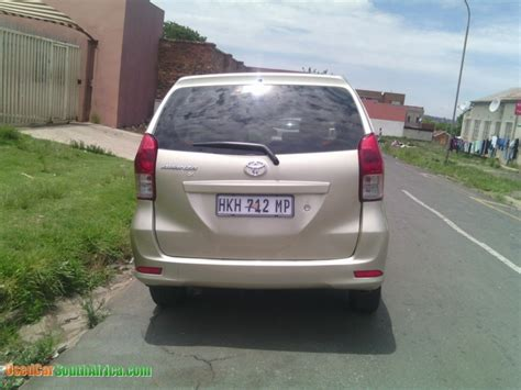 Used Toyota Avanza For Sale In South Africa 2014 Toyota Avanza 1 5 Used Car For Sale In Mpumalanga