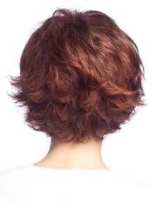 Back view of short layered bob hairstyle pictures to pin on pinterest