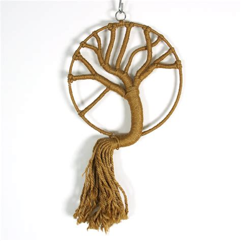 tree wall hanging 60s macrame wall hanging tree of