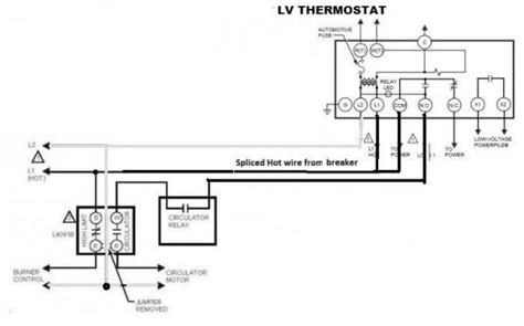 aquastats setting wiring heating system boiler