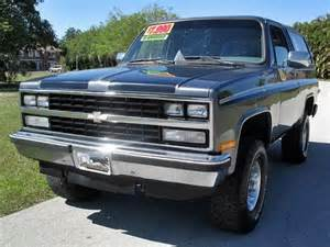 1989 Chevrolet Blazer Used 1989 Chevrolet Blazer For Sale Carsforsale