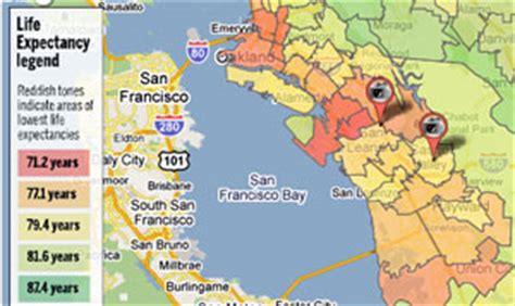 zip code map bay area day i three east bay zip codes life and death