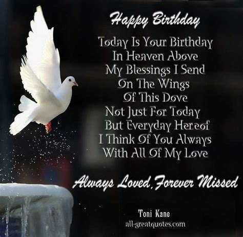 Wishing My A Happy Birthday In Heaven 25 Best Birthday In Heaven Quotes On Pinterest Birthday