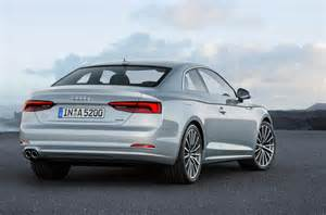 Audi Coupe A5 2017 Audi A5 Coupe And S5 Revealed Autocar