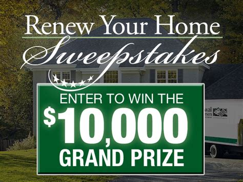 Home Makeover Sweepstakes - makeover entry renewal by andersen of central pa