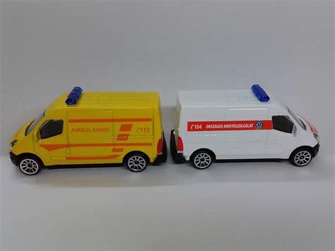 Majorette Ambulance matchbox memories matchboxon k 237 v 252 liek majorette renault