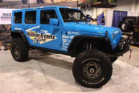 Walker Jeep Sema 2014 Walker Racing Changes Things Up