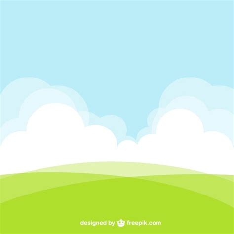 Landscape Vector Landscape Background Vector Free