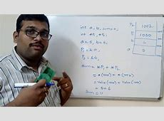 C PROGRAMMING - INTRODUCTION TO POINTERS & POINTER ... C- Pointer Indirection