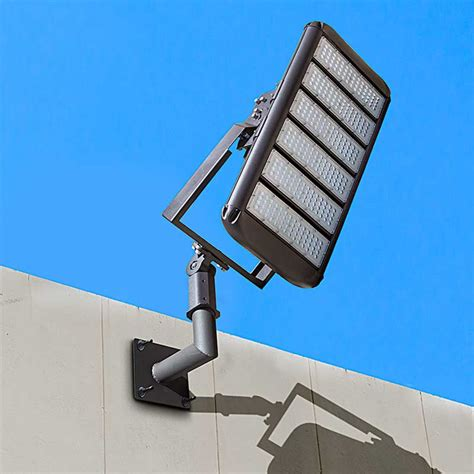 wall mount led flood light wall mount bracket for led area lights and parking lot