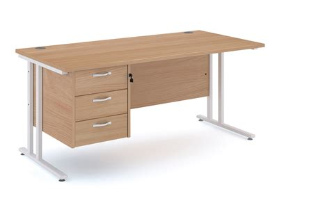 straight desk with drawers straight desk with 3 drawers 25 wl docklands office