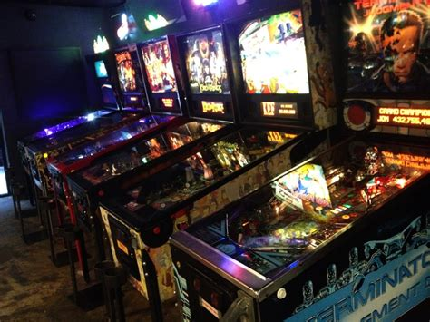 coin op room some of the pinball machines i played the simpsons the most yelp