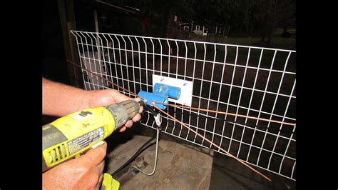 make a indoor or outdoor tv antenna pt 2