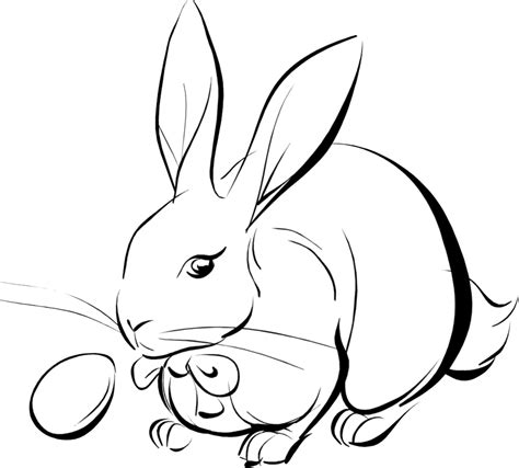 Easter Bunny Coloring Pages 2 Coloring Town Rabbit Color Pages