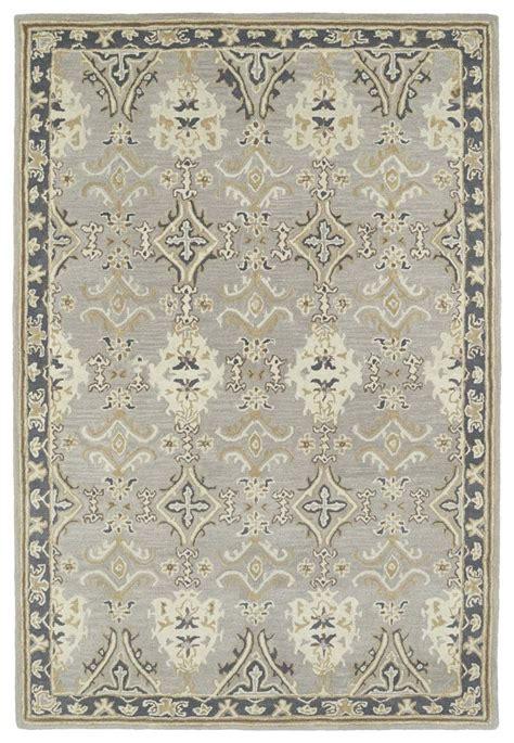 kaleen rugs kaleen middleton mid04 75 grey rug