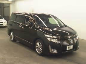 Second Nissan Elgrand 2010 Nissan Elgrand 250 Highway Japanese Used Cars