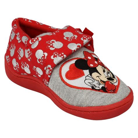 minnie mouse slippers minnie mouse slipper style strand ebay