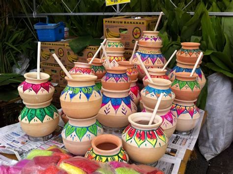decorating with pottery 14 jan 2013 pongal clay pot decorations for pongal
