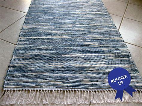 diy jean rug recycled denim rug ecouterre